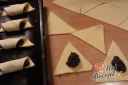 Příprava receptu Křehké makové rohlíčky, krok 6
