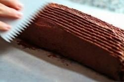 Příprava receptu Čokoládová roláda s banánem, krok 5