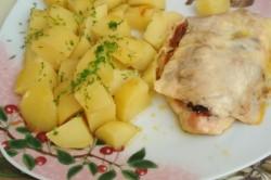 Recept Zapékaná kuřecí prsa s peřinkou