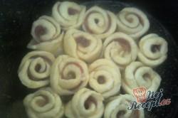Příprava receptu Salámová růže, krok 4