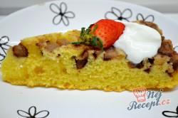 Příprava receptu Obrácený hruškový koláč - ovocný koláček našich babiček, krok 6