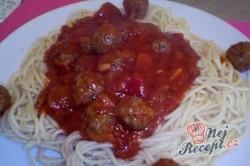 Příprava receptu Boloňské špagety (6 porcí), krok 1