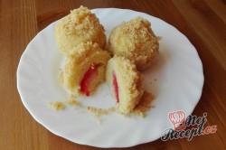 Příprava receptu Jahodové koule z bramborového těsta s osmaženou strouhankou, krok 2