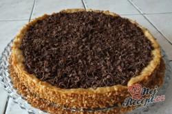 Příprava receptu Čokoládový (panna cotta) dort, krok 1