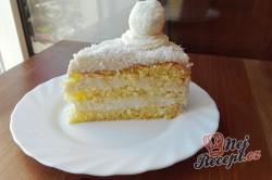 Příprava receptu Kokosový dort s Rafaello kuličkami - FOTOPOSTUP, krok 12