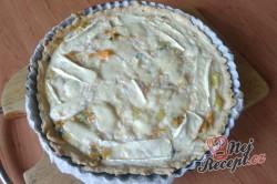 Příprava receptu Quiche s jarní cibulkou, krok 1