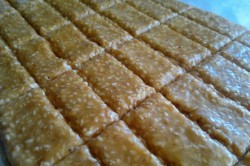 Příprava receptu Domácí sezamové tyčinky, krok 2