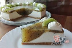Příprava receptu Osvěžující kiwi dort bez pečení, krok 3