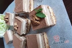 Příprava receptu Ořechová kostka s chutí cappuccina, krok 1