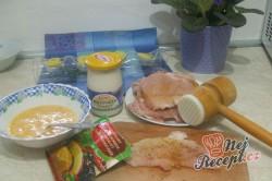 Příprava receptu Zapékané vepřové řízky s omáčkou, krok 1