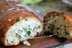 Příprava receptu Česnekový chléb se sýrem, krok 6