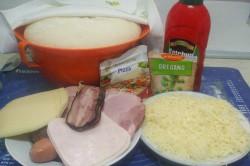 Příprava receptu Pizzovníky z kynutého těsta, za kterými se pouze zapráší, krok 1