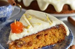 Příprava receptu Zdravější dezert - Mrkvový dort s citronovou polevou, krok 17