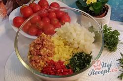 Příprava receptu Květákovo-kedlubnové kouličky s mozarellou, krok 2