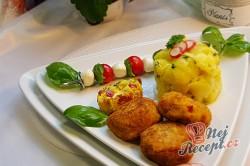 Příprava receptu Květákovo-kedlubnové kouličky s mozarellou, krok 5