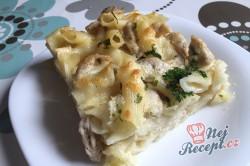 Příprava receptu Těstoviny s kuřecím masem a sýrovou omáčkou, krok 11