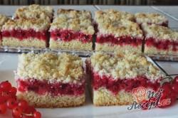 Příprava receptu Rybízový koláček s malinami našich babiček, krok 3