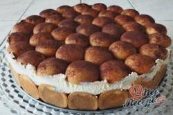 Příprava receptu Tiramisu v dortové formě, krok 3