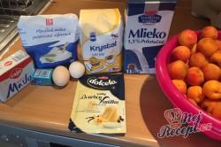 Příprava receptu Meruňkové kynuté koláčky, krok 1