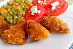 Příprava receptu Křupavé kuřecí nugetky, krok 1