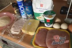 Příprava receptu Cordon bleu trochu jinak, krok 1