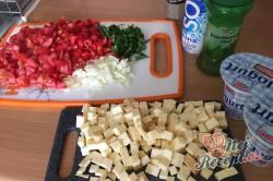 Příprava receptu Těstovinový salát se sýrem čedar, krok 3