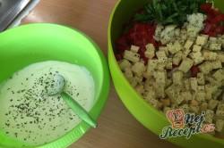Příprava receptu Těstovinový salát se sýrem čedar, krok 4