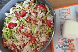 Příprava receptu Quesadilla - mexický koláč s kuřecím masíčkem, krok 5