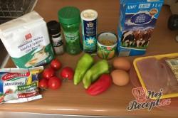 Příprava receptu Quesadilla - mexický koláč s kuřecím masíčkem, krok 1