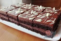 Příprava receptu Čokoládové řezy, krok 1