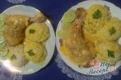 Příprava receptu Netradiční kuřecí stehýnka na zakysané smetaně, krok 5