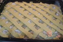 Příprava receptu Jablečný koláč s kokosovou nadýchanou peřinkou, krok 6
