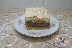 Příprava receptu Jablečný koláč s kokosovou nadýchanou peřinkou, krok 10