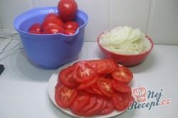 Příprava receptu Domácí rajčatový základ na pizzu, krok 2