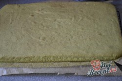 Příprava receptu Jahodovo špenátové kostky - fotopostup, krok 8