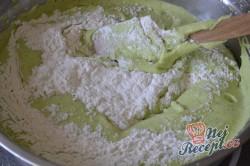 Příprava receptu Jahodovo špenátové kostky - fotopostup, krok 6