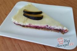 Příprava receptu Švestkový cheesecake více vrstev, krok 1