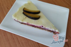 Příprava receptu Švestkový cheesecake více vrstev, krok 2