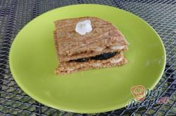 Příprava receptu Ovesné sendviče s ovocem, krok 2