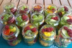 Příprava receptu Míchané ovoce na dlouhé zimní večery, krok 3