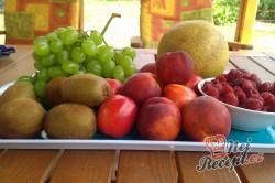 Příprava receptu Míchané ovoce na dlouhé zimní večery, krok 1