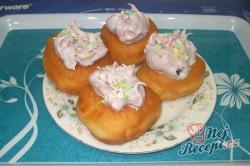 Příprava receptu Domácí koblihy s malinovou pěnou, krok 7