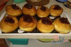 Příprava receptu Domácí koblihy s malinovou pěnou, krok 5