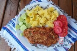 Příprava receptu Krůtí prsa v jablečném těstíčku, krok 5