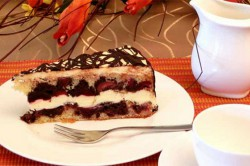 Příprava receptu Parádní dort - Dunajské vlny, krok 2