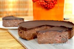 Bezkonkurenční recept na vynikající nepečený cheesecake, který připravíte za pár minut., krok 10
