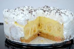 Příprava receptu Famózní banánový nepečený dort, krok 7
