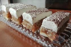 Příprava receptu Nepečené jablečné řezy s vanilkovou příchutí, krok 1