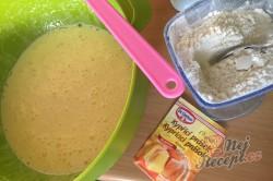 Příprava receptu Jablečný obrácený zákusek se šlehačkou - FOTOPOSTUP, krok 4