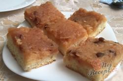 Příprava receptu Jablečný obrácený zákusek se šlehačkou - FOTOPOSTUP, krok 11